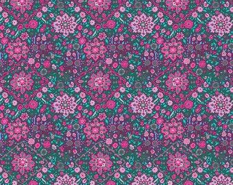 Kaliedescope - Violet from Soul Mate by Amy Butler for FreeSpirit - 1/2 yard