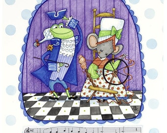 A Frog, He Would A- Wooing Go...