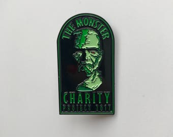 The Monster Charity Project 2017 Enamel Pin