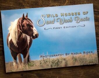 Sand Wash Basin Photography Book - Wild Horses of Sand Wash Basin Photo Book, wild mustang photos,  Northwest Colorado