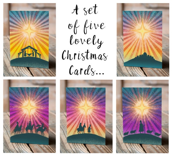 The Star! | Set of 5 Greetings Cards