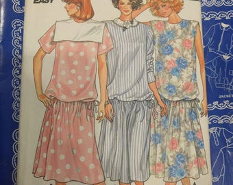 Butterick maternity dress 3645,  maternity pattern, Butterick pattern