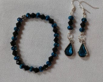 Bracelet and Matching Earrings