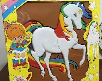Rainbow Brite Plastic Puzzle - Rainbow Brite Starlite 3-D Puzzle