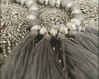Bohemian necklace {Singing in the rAin.