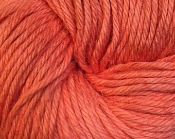Coral Cascade Hampton Pima Cotton and Linen DK Weight Yarn 273 yards color 07