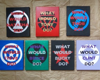 What Would ___ Do? /  Canvas Art