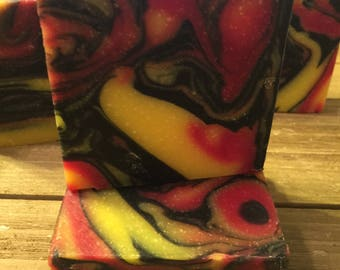 Tie Dyed Soap-All Natural Soap, Handmade Soap, Homemade Soap, Handcrafted Soap