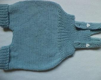 Shorts Dungarees 74/80 wool knit pants baby pants