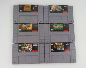 Pick and Choose from Super Nintendo games!!(Tested)