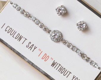 gifts for bridesmaids, bridal shower gifts, bridesmaid gifts, bridesmaids gifts, earrings for bridesmaids, maid of honor gifts, BE157-S2