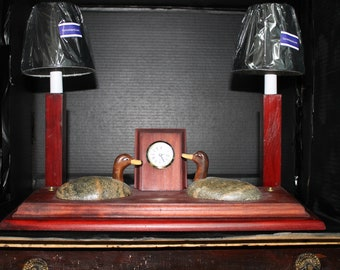 Handcrafted decorative lamp