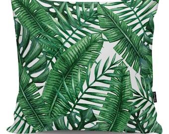 Decorative pillow Palms VII