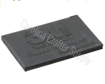 """Rubber Application Squeegee 2x3"""" Vinyl Squeegee Wet Or Dry Squeegee 3M"""