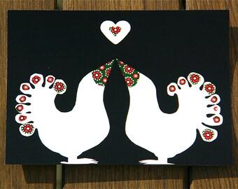 Lovebird's Postcard