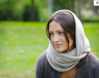 100% cashmere Big Circle Scarf/Shoulder Wrap