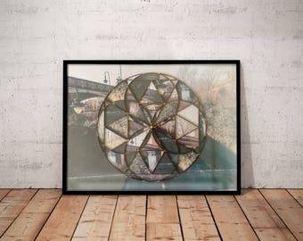 Castlefield | Manchester - Mixed Media - Photo Manipulation - Collage - Laser Cut