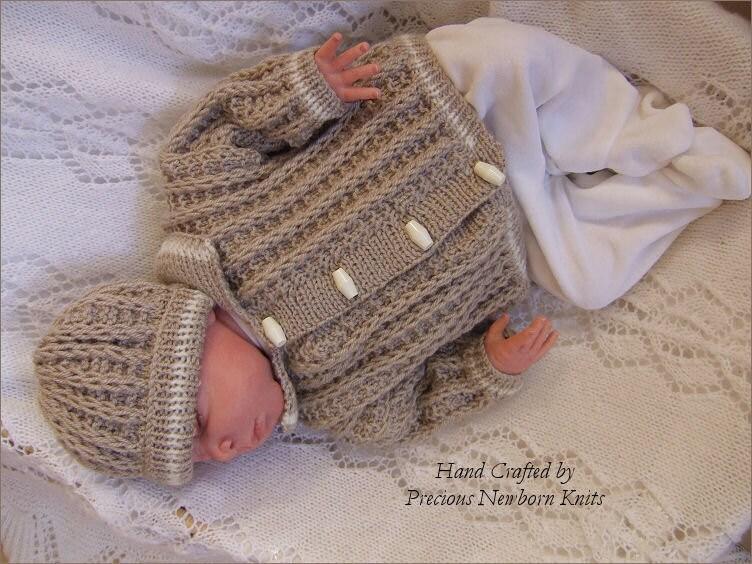Baby Knitting Pattern Baby Boys Or Reborn Dolls Download