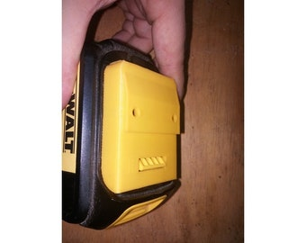 Wall Mountable DeWALT 20v MAX Battery Cover