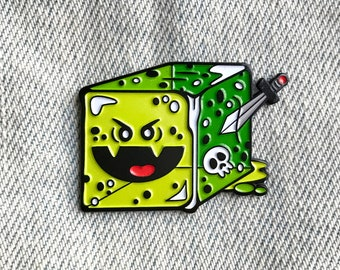 Gelatinous Cube - Dungeons and Dragons Enamel Pin