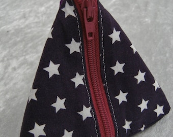 Storage box small size (10cm) Purple Star