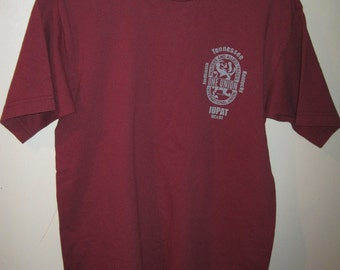 DC 91 Painters Allied Trades IUPAT Tennesse Red Shirt Sz M