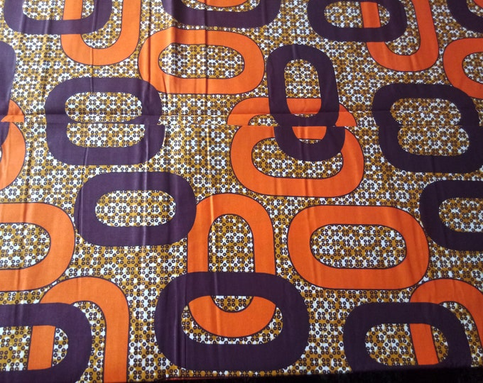 1 YARD Mitex Holland Print Cotton Fabrics For Craft Making Dresses Skirts Shirts Also Know as African Fabrics Kitenge Chitenge Kikwembe