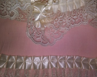 """Ivory Floral Lace 2"""" Wide"""