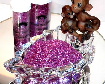 Paris Pink Extra Fine Glitter 0.008 - Many Colors Available - 2 Sizes - Visit Our Shop! B-57