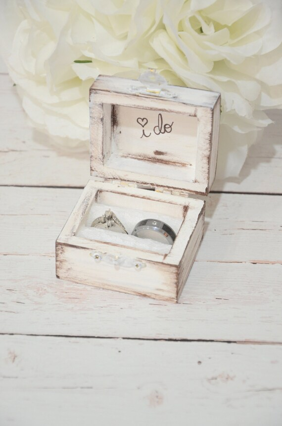 Rustic i do ring bearer box junglespirit Image collections
