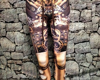 Steampunk leggings and/or belt    sold separately