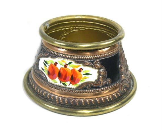 Decorative Copper and Brass Planter
