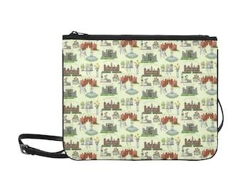 Anne Boleyn's Homes and a Summer English Garden Slim Clutch Bag