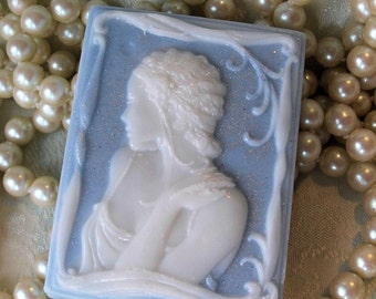 Handcrafted Cameo Soap Sophie