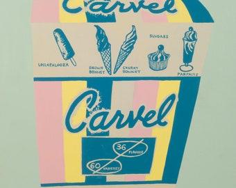 Carvel Ice Cream Carton