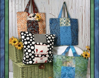 Six Pack Stack Tote Sewing Pattern