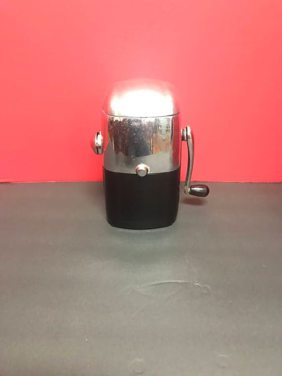 Fifties Ice crusher black and chrome