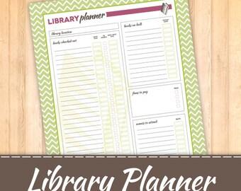Library Planner Digital File