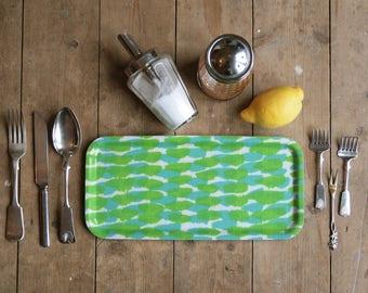 Green condiment tray