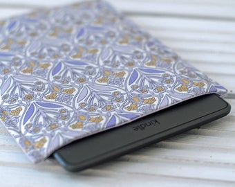 Kindle Paperwhite Case, Kindle Paperwhite Cover, Lilac iPad Mini Cover, Kindle Touch, Kindle Fire Cover, Padded Sleeve, iPad Mini Cover Case