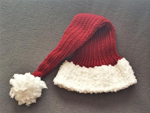 LOOM KNITTING PATTERNS Yuletide Stocking Hat / Small Gauge