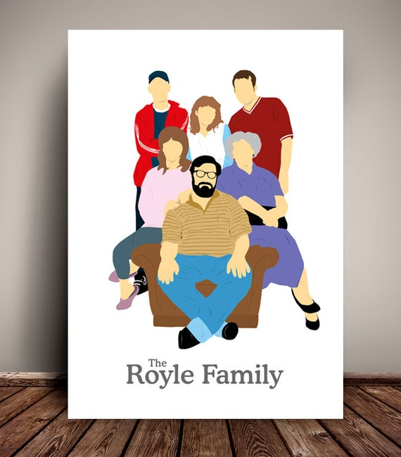 The Royle Family // Minimalist TV Poster // Unique Art Print // Available in 5 Sizes