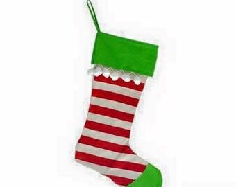 Christmas Stocking with FREE Monogram