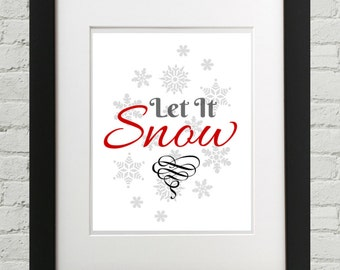 Let It Snow, Winter Decor, Snowflake Decor, Christmas Decor, Let It Snow Lyrics, Chords, Movie, Song, Book, Carols, Live, Classic, Buble, A
