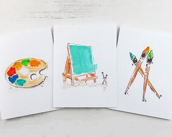 Artist Cards - Cards for Artists - Art Lover Cards - Cards for Art Lovers