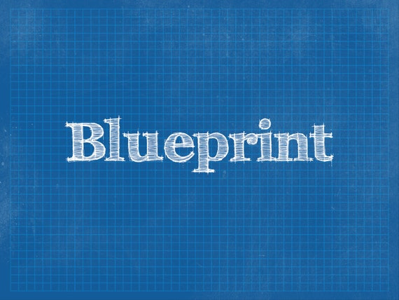 Blueprint powerpoint background template malvernweather Image collections
