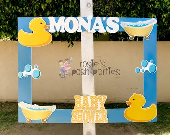 Rubber Ducky Baby Shower Photo Booth Rubber Ducky Party Photo Booth Or  Photo Prop Decoration Ducky