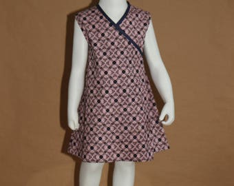 Reason: pink dress tunic cross-customized - 3 years