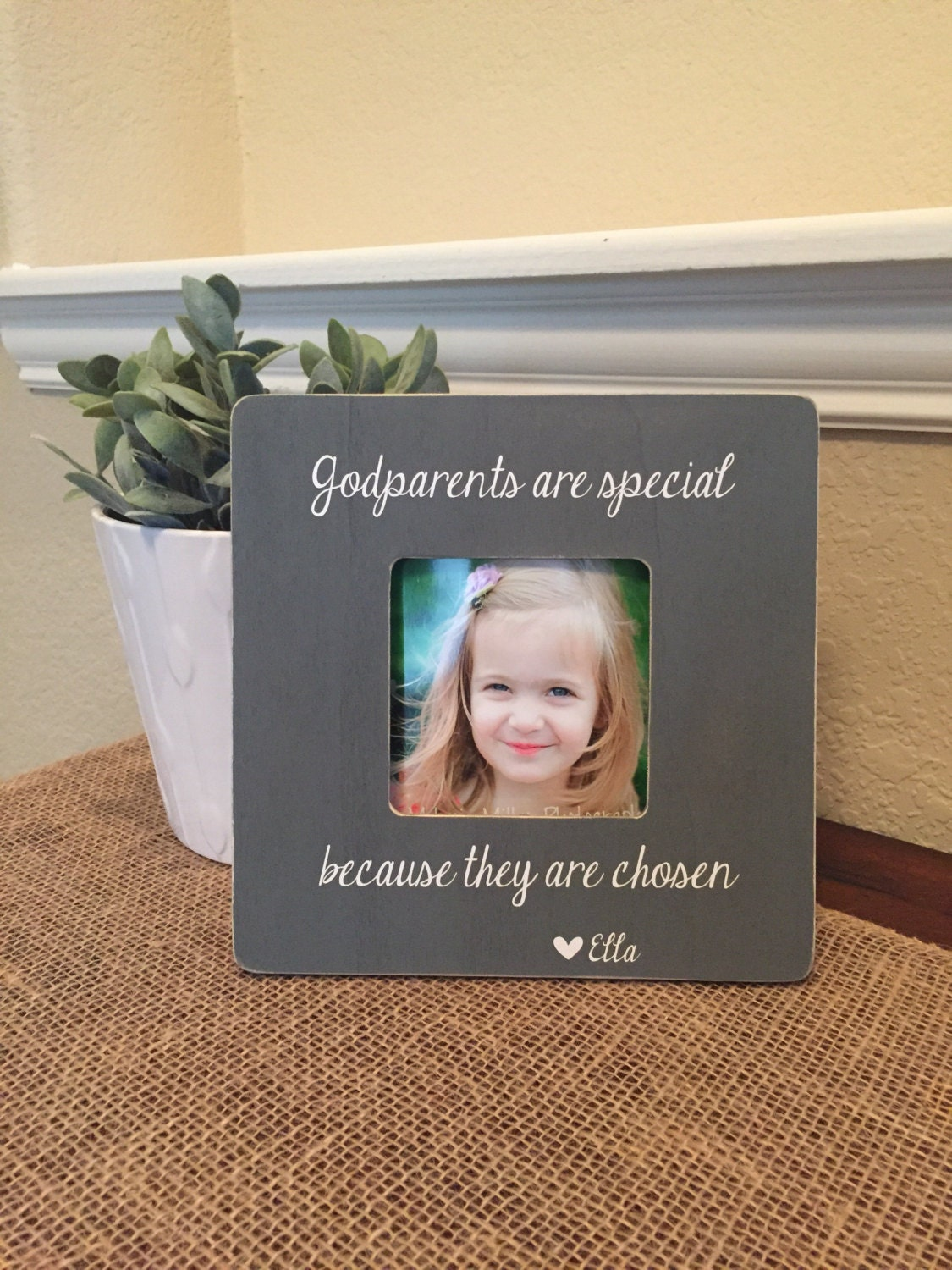Godparents frame gift godmother godfather godparents gift from zoom jeuxipadfo Image collections