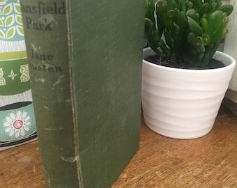 Mansfield Park by Jane Austen Vintage Book 1940s